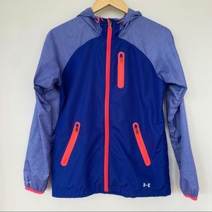 Under Armour fitted cut wind breaker jacket